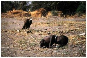 La foto por la que ganó Kevin Carter el Premio Pulitzer