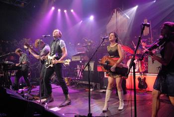 Arcade Fire en el escenario